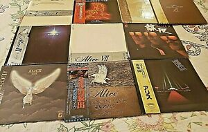 10 Record Vinyl lot Japan Group 2Memorial Albums 1976-1979 And More