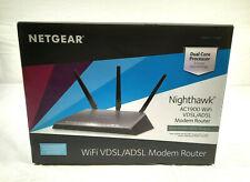 NetGear Nighthawk AC1900 WiFi VDSL/ADSL Modem Router (D7000-100NAS)