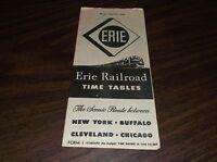 APRIL 1948 ERIE RAILROAD FORM 1 SYSTEM PUBLIC TIMETABLE