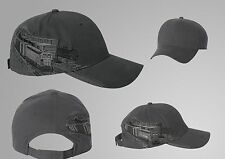 DRI DUCK - Railroad Industry Cap - 3331 Men's Hat Embroidery Charcoal  One Size
