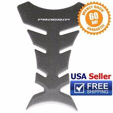 ProGrip Carbon Fiber Look Fuel/Gas Tank Cover/Protector Pad Decal/Bike Sticker