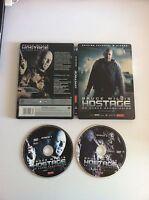 HOSTAGE - BRUCE WILLIS - 2 DVD EDICION ESPAÑOLA STEELBOOK CAJA METALICA - AM