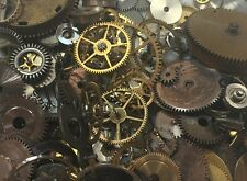 10grams Steampunk WATCH Parts Old Pieces Steam Punk Cogs Gears Wheels Vintage