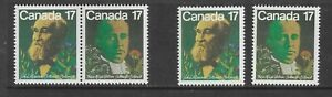 9HICK GIRL-BEAUTIFUL M.H. CANADA  SC#894-95   1978  ISSUES          B1563