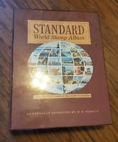 WORLDWIDE STAMP LOT ALBUM MANY PAGES STAMPS FROM COUNTRIES AND US