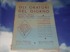 GLI ORATORI DEL GIORNO // Anno XIX N°9-10 Settembre-Ottobre Ed. Roma 1950
