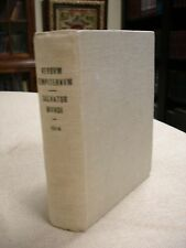 Facsimile of 1614 Verbum Sempiternaie: Thumb Bible - 1909