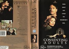 CONSENTING ADULTS - Kevin Kline - VHS -PAL-NEW-Never played!-Original Oz release