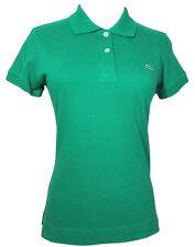 LACOSTE 38 Spring Green Cotton Knit Polo SHIRT 6 TOP S Alligator Logo Short Slv