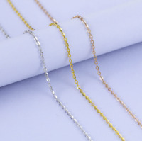 REAL Fashion Classic 925 Sterling Silver O Chain Necklace SOLID Jewelry Italy