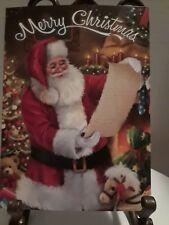 Simon Treadwell SANTA looking at his list Unused Christmas Greeting Cards 4
