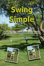 SWING SIMPLE GOLF INSTRUCTION BOOK FULL SWING LESSONS