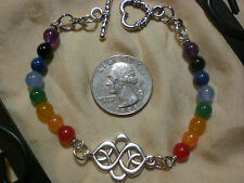 Chakra Rainbow Double Lucky Infinity Bracelet
