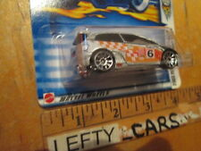 HOTWHEELS SCALE 1/64 2002 HONDA CIVIC Si - SILVER PAINT WITH DESIGNS (STOCK#2)