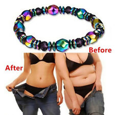 Weight Loss  Magnetic Bracelet Beads Hematite Stone for Therapy Health 0tm