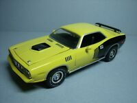 1/43  PLYMOUTH  CUDA  1971  ERTL  MUSCLE  CARS  NO  MINICHAMPS  AUTOART