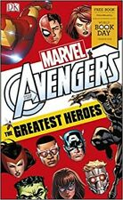 DK Marvel Avengers the Greatest Heroes World Book Day NEW (Paperback) Book