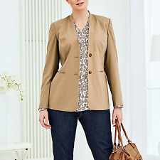 CAMEL ausgefallen Büro Business Anzug-Jacke Casual Gr.48/50 BLAZER