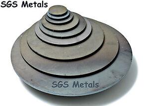Mild Steel 6.0mm Round BLANK DISCS Metal Plate Sheet Disc Washer