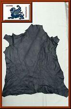 Ziegenleder Lila/Traube Knautsch Lederhaut Echt Leder Polsterleder 60x45 AN2