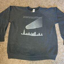 Vintage 80s Halley'S Comet Crewneck Healthknit Size Xl Made In Usa 1980s Space