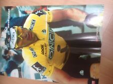 Cyclisme, ciclismo, wielrennen, radsport, cycling, POSTER LAURENT JALABERT
