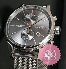 NEW Hugo Boss Watch Grey HB1513440 Mens Watch 3 Year Warranty*