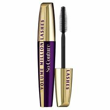 3 X L'OREAL SO COUTURE VOLUME MILLION LASHES MASCARA ❤ BLACK ❤ GLOSSI AUSTRALIA