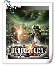 PS3 SONY PlayStation Bladestorm The Hundred Years' War & Nightmare Action Koei
