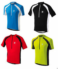 Altura Short Sleeve Cycling Jerseys with Full Zipper