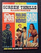 1964 SCREEN THRILLS ILLUSTRATED #8 SINISTER SPIDER Marx Brothers SABU FVF 7.0