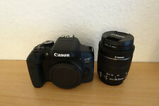 Canon EOS 750d 18-55mm IS STM DSLR-Videocamera-Nero * TOP *