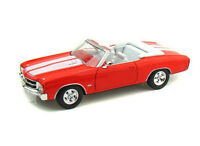 Chevrolet Chevelle SS454 Convertible (1971) in Orange (1:24 scale by Welly 22089