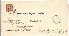 P8613   Ravenna, San alberto, annullo numerale a sbarre, 1889