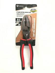 """Southwire SCP9TPCD-US 9"""" High-Leverage Side Cutting Pliers Tape Puller & Crimper"""