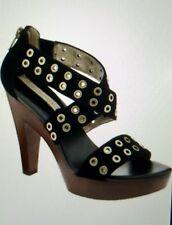 Banana Republic Bethel suede platform sandal, Black Sz 8.5