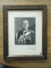 Id'ed Canadian Lt. Col. Wearing Medals Studio Photograph