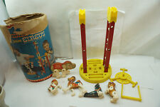 VINTAGE FISHER PRICE CIRCUS 1963 BABY JUMBO ELEPHANT CENTER RING PARTS BOX d
