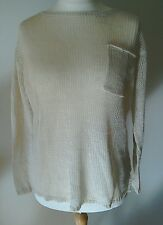 BNWT Ralph Lauren Womens linen Jumper Small/Large Available RRP£90.00