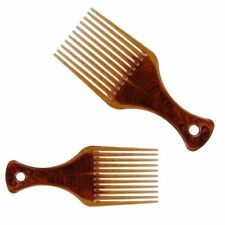 Combs Dyeing Comb Wide Tooth Amber DIY Styling Barber Tool Anti-stattic Tint