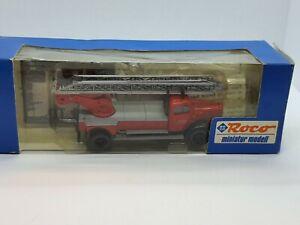 Mercedes Benz DL22, 1361 Feuerwehr*  Modellauto * Roco