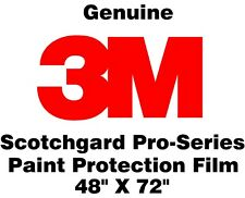 "3M Scotchgard Pro Series Paint Protection Film Clear Bra Bulk Roll 48"" X 72"""