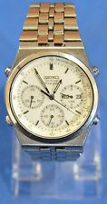 Seiko 7A38-7289 Quartz Chronograph Wrist Watch for Men Stainless Steel 813790