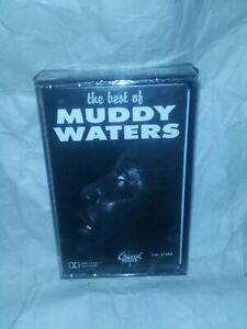 Muddy Waters The Best Of  cassette tape album New Factory Sealed 1987 VTG