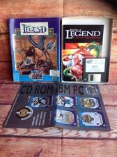 VINTAGE COMPUTER GAME WORLDS OF LEGEND son Of The Empire IBM PC action Sixteen