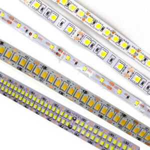 5M LED Strip Light 600 LED 2835 5050 5054 5630 SMD Waterproof Flexible tape 12V