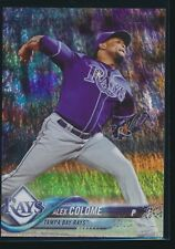 2018 Topps Foilboard Parallel /190 Factory Set #332 Alex Colome Tampa Bay Rays