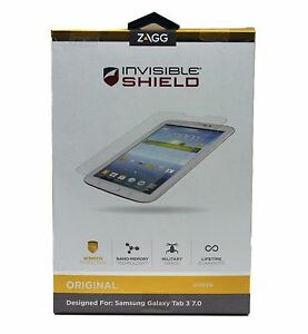 Tablet ZAGG - InvisibleSHIELD Screen Protector for Samsung Galaxy Note 8 inch