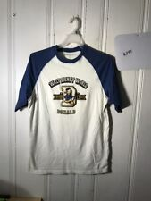 DONALD DUCK RAGLAN TEE MENS LARGE GRAPHIC S/S #A284