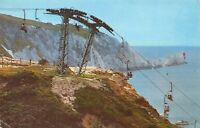 Isle of Wight Postcard, The Chairlift, Alum Bay & The Needles DU4